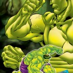 The incredible Hulk Art