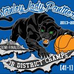 Lady Panthers Basketball T-Shirt Design