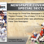PrimeTime Newspapers_ Pigskin Preview - Cover. TCNA Award Winning Design!
