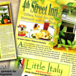 PrimeTime Newspapers_ Que Pasa Magazine - 4th Street Inn. With some decent photography_imagey, page layout can be a pretty fun task!
