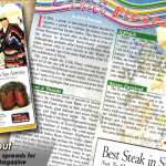 PrimeTime Newspapers_ Que Pasa Magazine - Viva Fiesta! With some decent photography_imagey, page layout can be a pretty fun task!