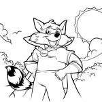 Scout-The-Raccoon-Coloring-Book-cover