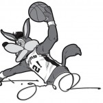 Spurs Coyote Art